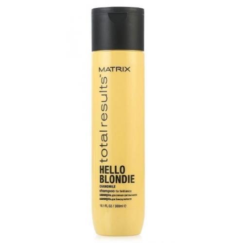 Шампунь для сияния светлых волос «Хеллоу Блонди» гаммы «Total Results» марки «Matrix» 300мл