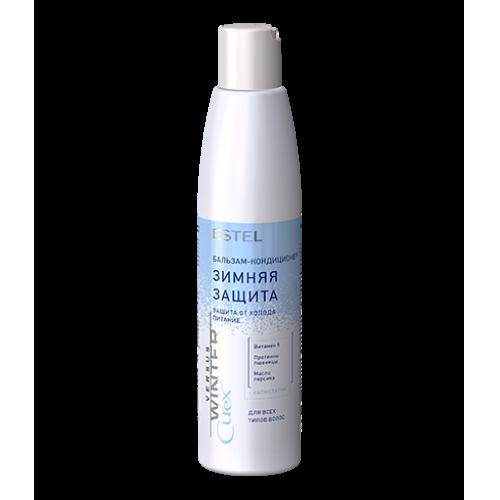 Бальзам-кондиционер зимняя защита для всех типов волос Curex Versus Winter 250 мл